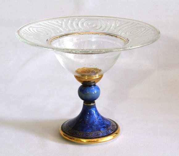 sapphire-blue-crystal-compote-25-cm-dia